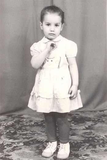 Виктория Дайнеко в детстве