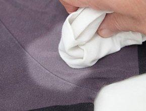 Как вывести белые пятна от дезодоранта
