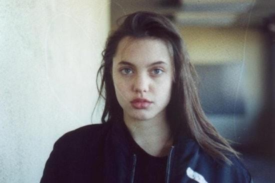 Анджелина Джоли в юности