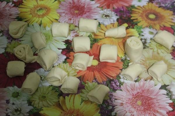 Фото приготовления рецепта: самса с тыквой - шаг № 10