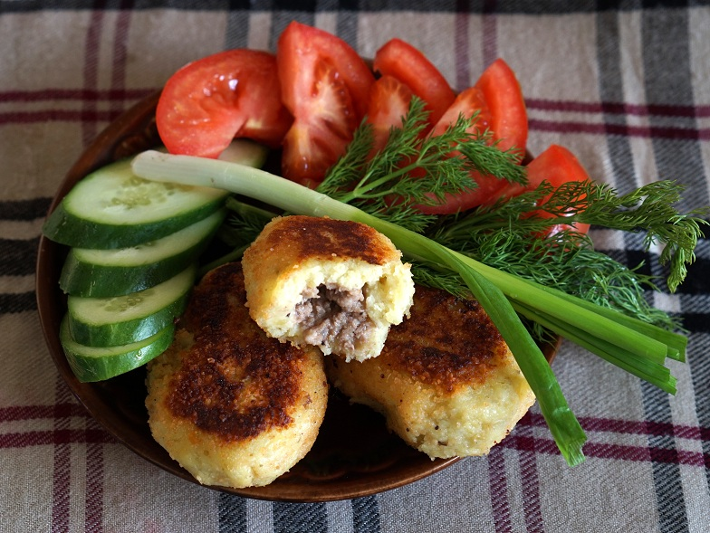 Зразы картофельные: рецепт с фото