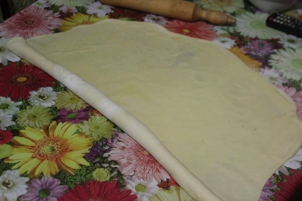 Фото приготовления рецепта: самса с тыквой - шаг № 8