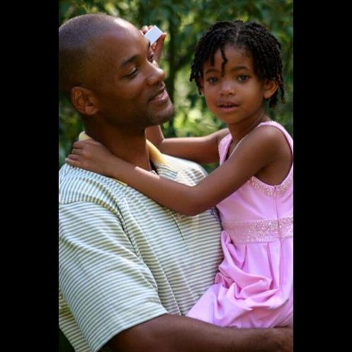 Уилл Смит с дочерью