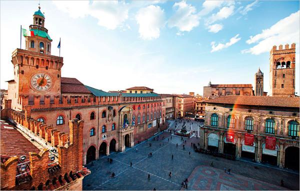 Путешествие в Италию Болонья
