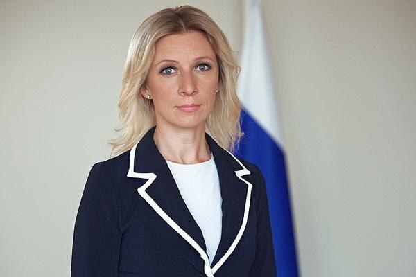 Мария Захарова опубликовала символический знак в интернете