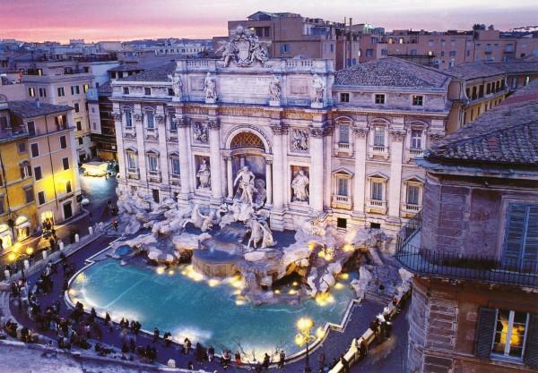 Путешествие в Италию Рим