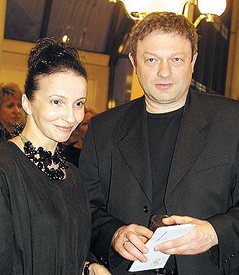 Алла Сигалова и Роман Козак