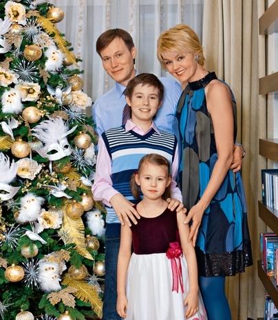 Юлия Меньшова семья