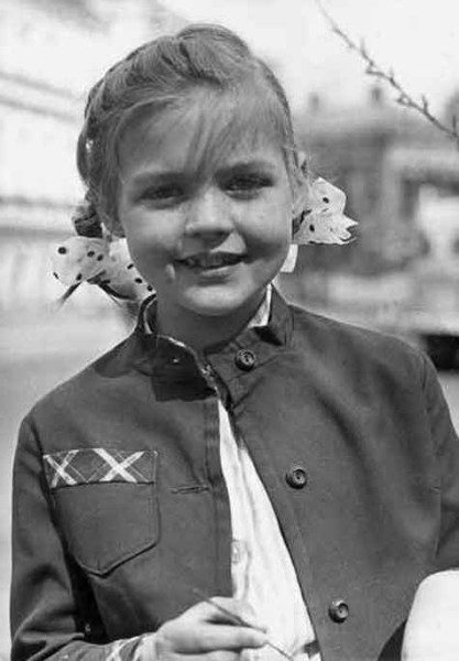 Юлия Меньшова в детстве