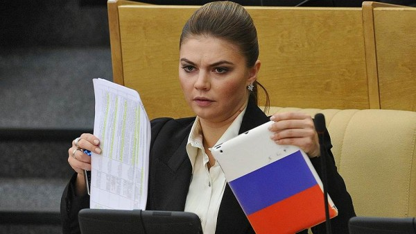 Алина Кабаева в госдуме