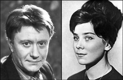 Андрей Миронов и Лариса Голубкина