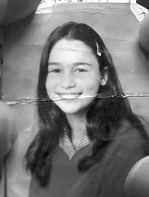 Эмилия Кларк в детстве