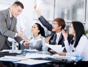 Конфликты на рабочем месте: их польза и вред