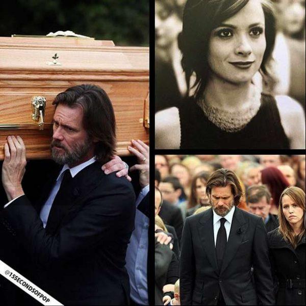Джим Керри и Катриона Уайт похороны