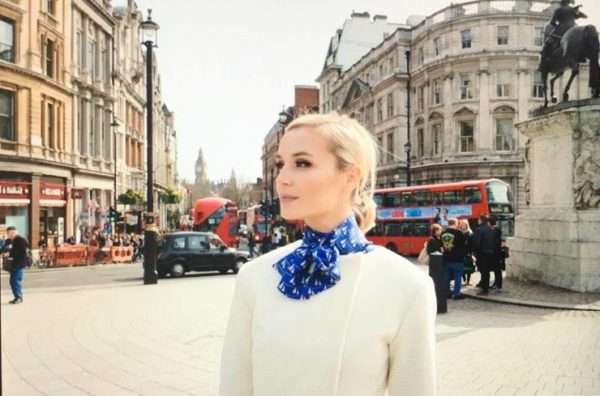 Полина Гагарина в Лондоне