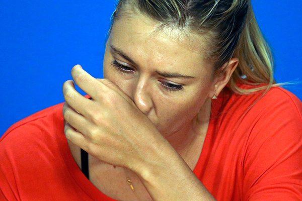 Мария Шарапова мельдонин