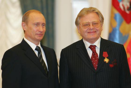 Юрий Антонов и Владимир Путин