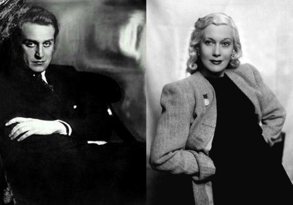 Любовь Орлова и Григорий Александров
