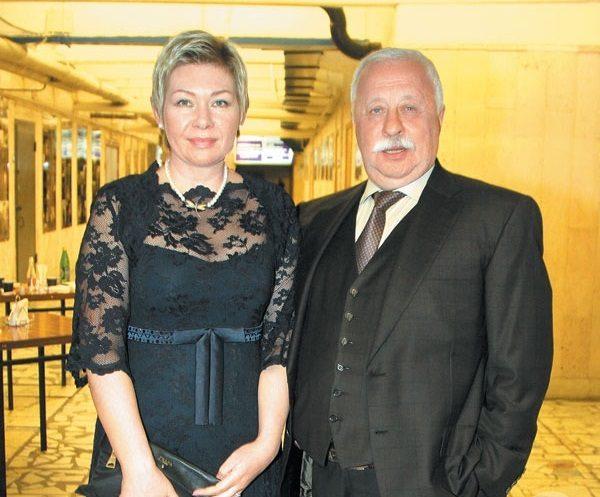 Леонид Якубович и Марина Видо