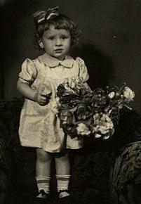 Валентина Толкунова в детстве