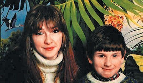 Екатерина Семенова с сыном