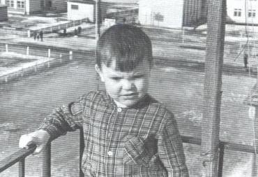 Михаил Круг в детстве
