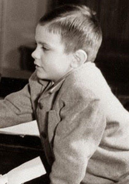 Никита Михалков в детстве
