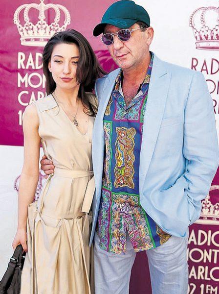 Григорий Лепс с дочерью Ингой