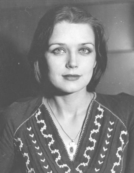 Ирина Алферова в молодости