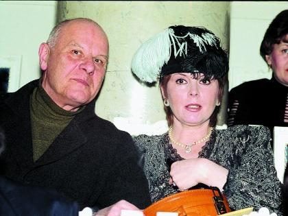 Клара Новикова со вторым мужем Юрием Зерчаниновым