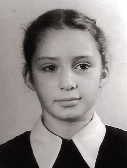 Татьяна Васильева в детстве
