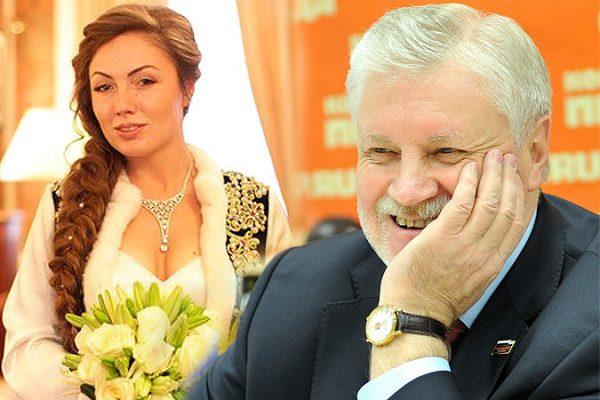 Сергей Миронов и Ольга Радиевская