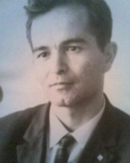 Ислам Каримов в молодости