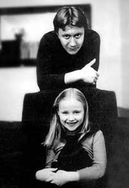 Мария Миронова с отцом