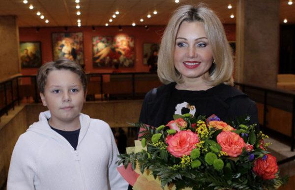 Ирина Климова с сыном