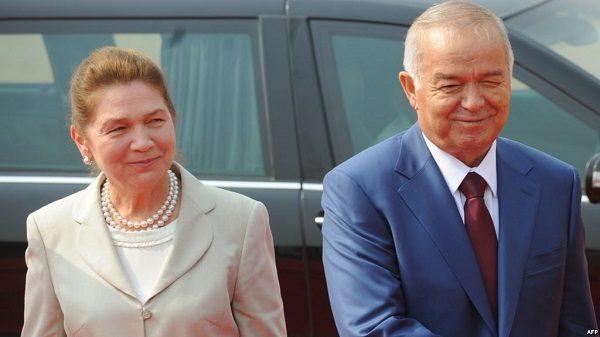 Ислам Каримов с женой Татьяной