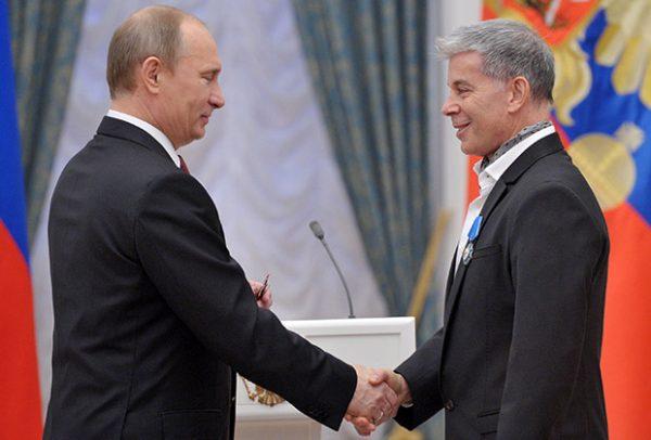 Олег Газманов и Владимир Путин