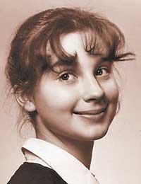 Екатерина Стриженова в детстве