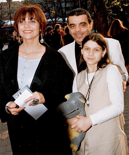 Константин Райкин и Елена Бутенко с дочерью Полиной