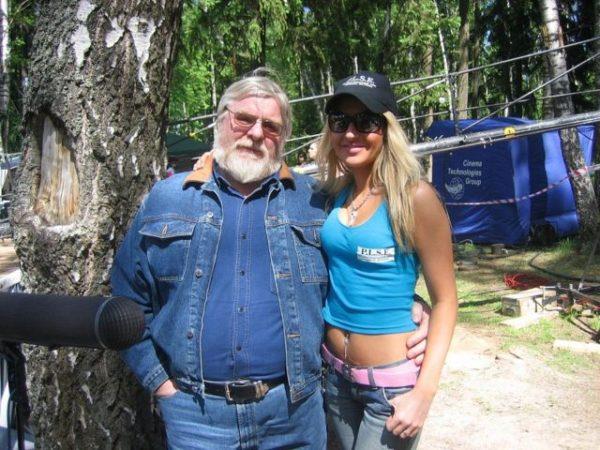 Валентин Дикуль с женой Людмилой