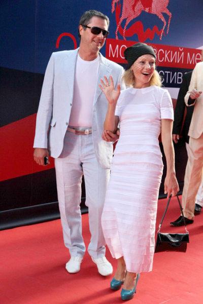 Алена Бабенко со вторым мужем