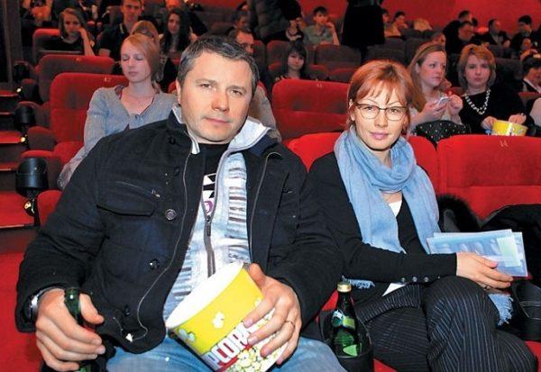 Алена Бабенко с первым мужем Виталием