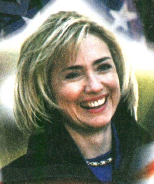 Хиллари Клинтон в молодости