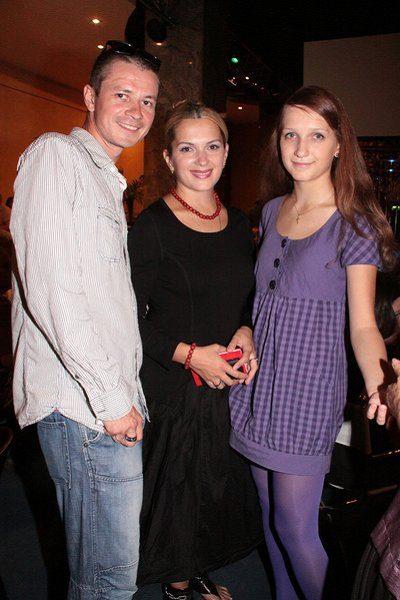 Мария Порошина, Илья Древнов и Полина Кунценко