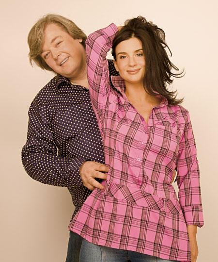 Екатерина Стриженова с мужем