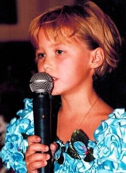 Аглая Шиловская в детстве