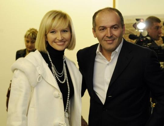 Виктор со второй женой Еленой Франчук