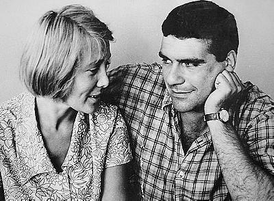 Сергей Довлатов с женой