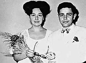 Евгений Петросян и Анна Козловская