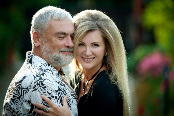 Вика Цыганова с мужем